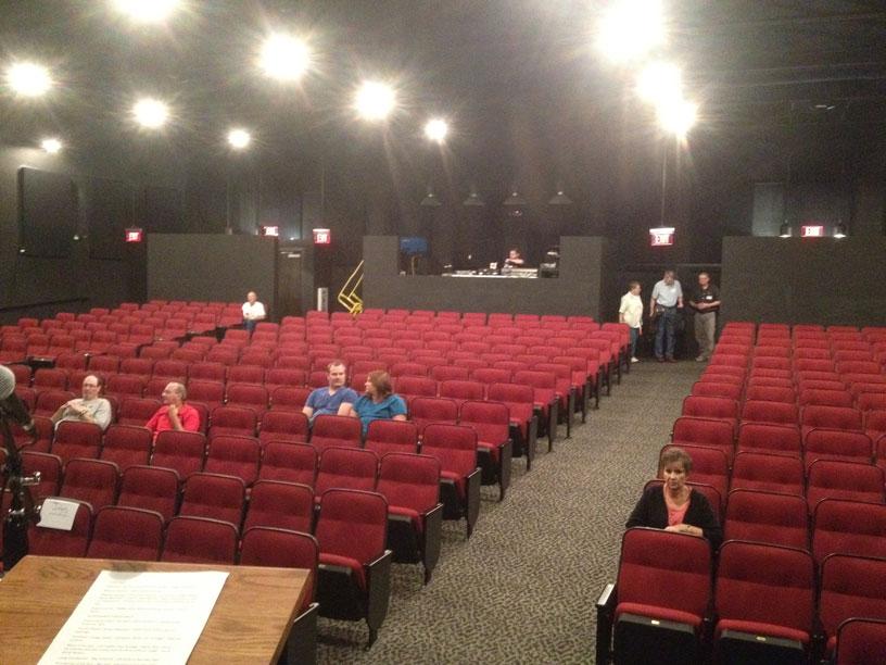 Merle Travis Music Centre interior