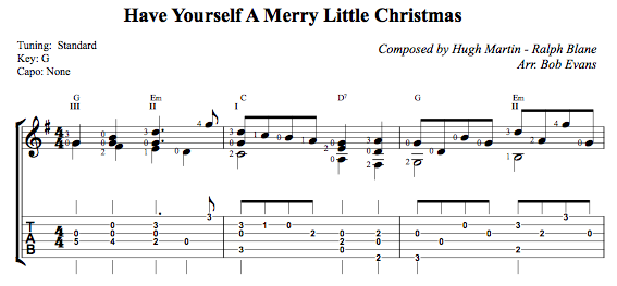 attd013 have yourself a merry little christmas thumbnail - Have Yourself A Merry Little Christmas Tab