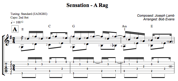 sensation a rag - Have Yourself A Merry Little Christmas Tab